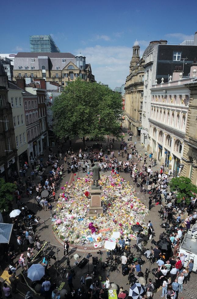 Memorial in Manchester