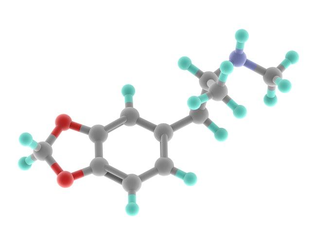 A molecular model of MDMA