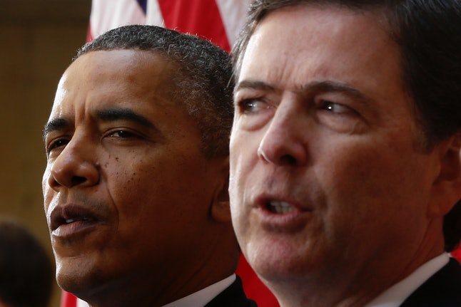 FBI Director James Comey (R) fielded criticism for his handling of the Clinton email probe.