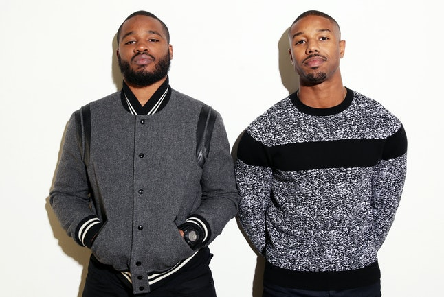 Ryan Coogler (left) and Michael B. Jordan (right)