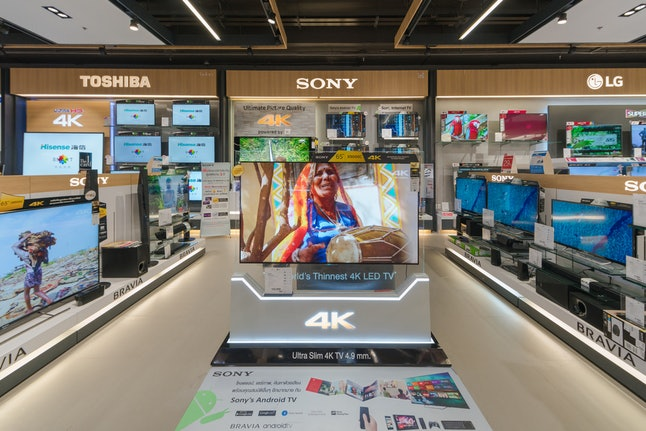4K TV prices have fallen dramatically since 2014.