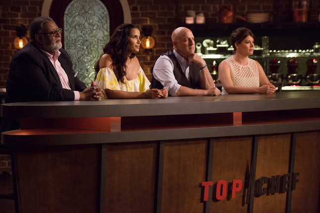 The judges of 'Top Chef'