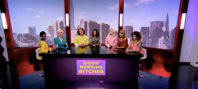 """Good Morning Bitches"" on 'RuPaul's Drag Race'"