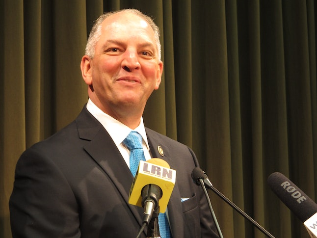 Gov. John Bel Edwards.