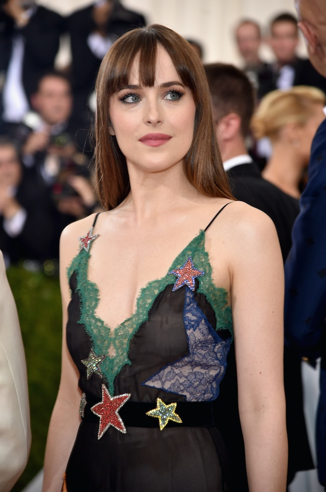 Johnson at the 2016 Manus x Machina: Fashion in an Age of Technology Costume Institute Gala.