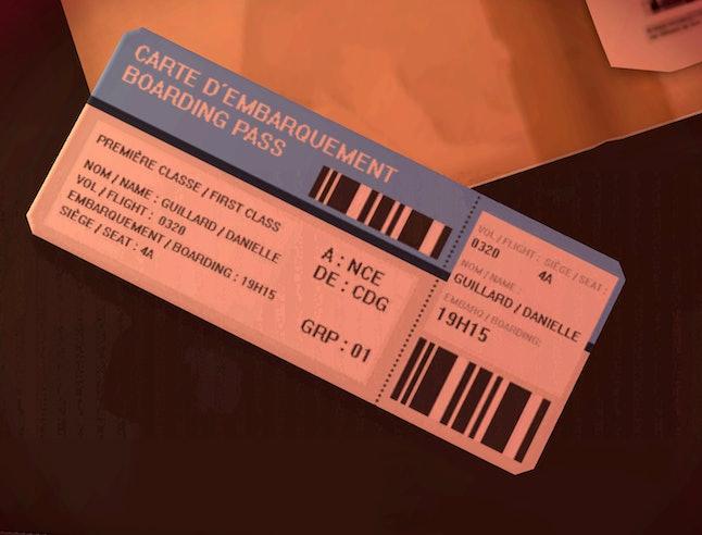 Widowmaker's plane ticket in the new 'Overwatch' map