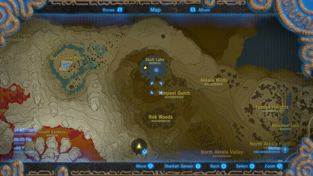 Zelda Breath Of The Wild Dark Link Outfit How To Get The Secret Easter Egg Armor Set