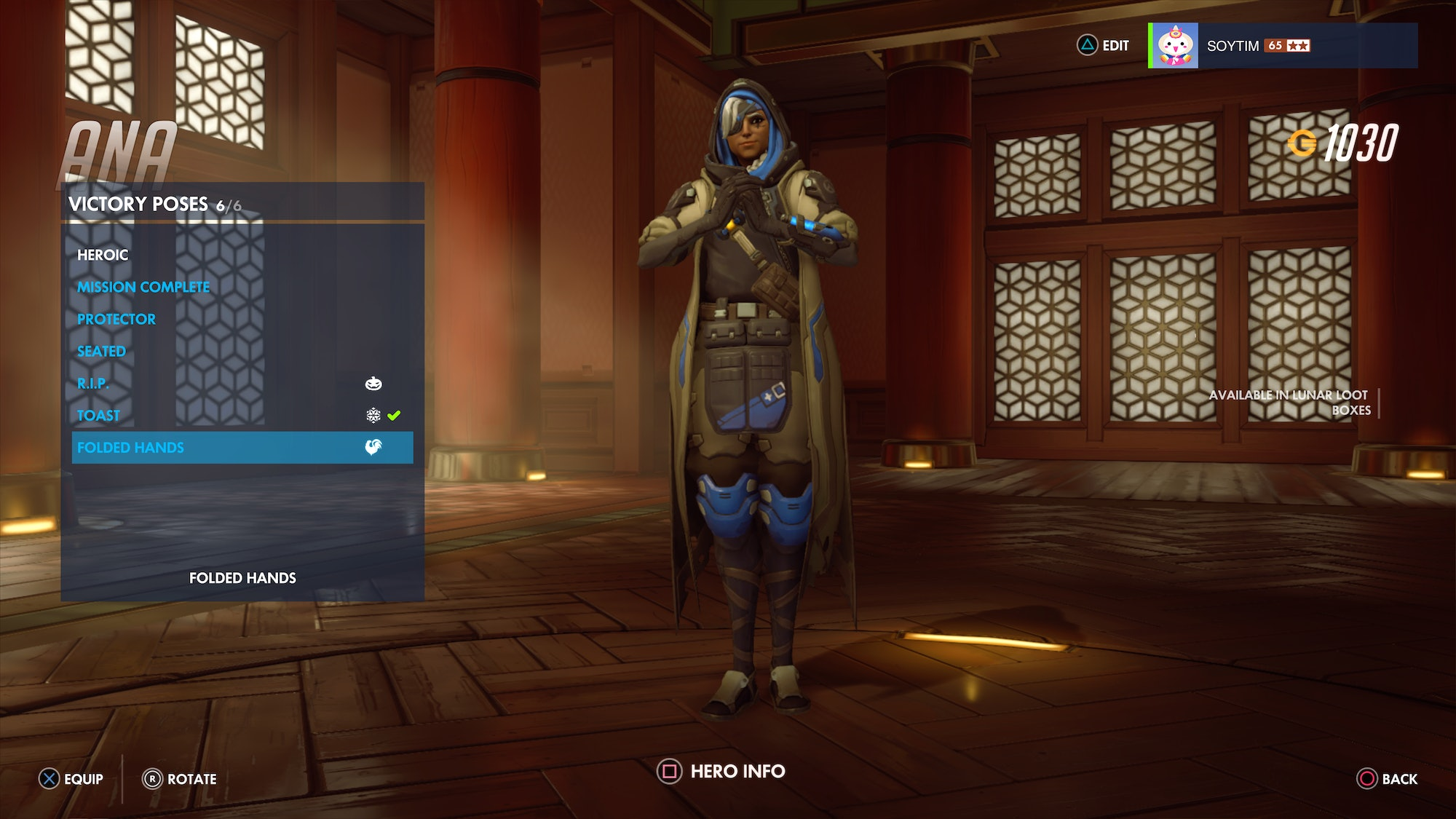 Ana Emotes overwatch' year of the rooster skins: every skin, highlight