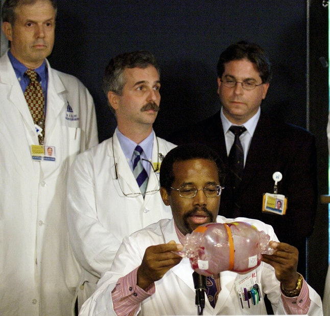 Ben Carson was one of America's most celebrated neurosurgeons.