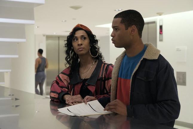 Mj Rodriguez as Blanca and Ryan Jamaal Swain as Damon on 'Pose'