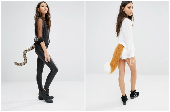 Tell Tails's leopard tail and fox tail