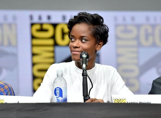 Letitia Wright, one of Black Panther's stars