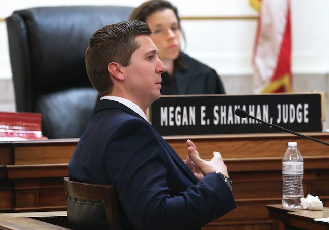 In court, Ray Tensing talks about what led to his fatally shooting Samuel DuBose.