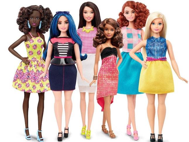 Barbie's Fashionistas Line