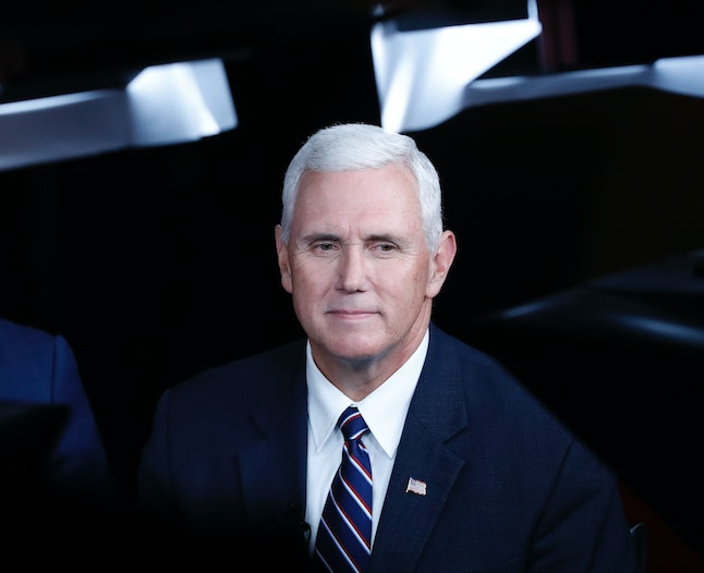 Mike Pence, Donald Trump's vice presidential running mate