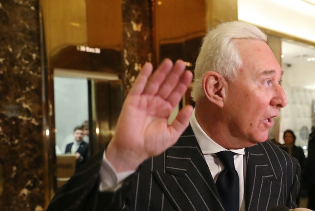 Roger Stone has been a close confidant of Donald Trump for years.