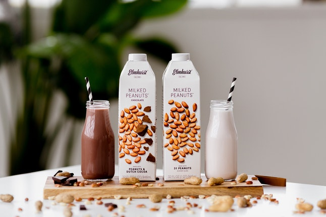 A new peanut milk adds a dash of PB flavor to smoothies.