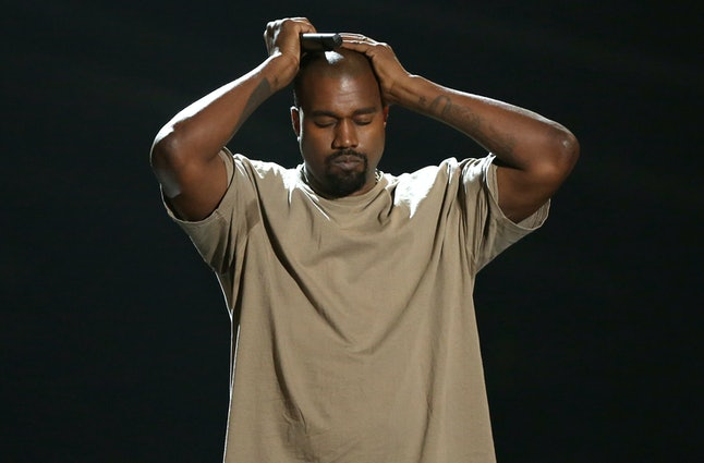 Kanye West overwhelmed by the sheer volume of potential album name options?