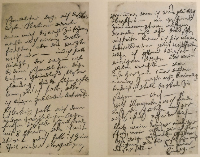 Ludwig van Beethoven's letter to his 'immortal beloved,' the unnamed subject of a love letter written by the composer on July 6th, 1812 in the city of Teplitz.