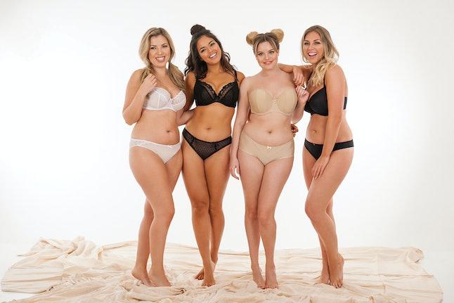 Models in Curvy Kate bras