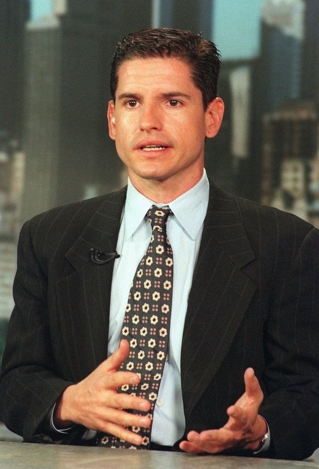 Brock during an interview with CNN in 1998