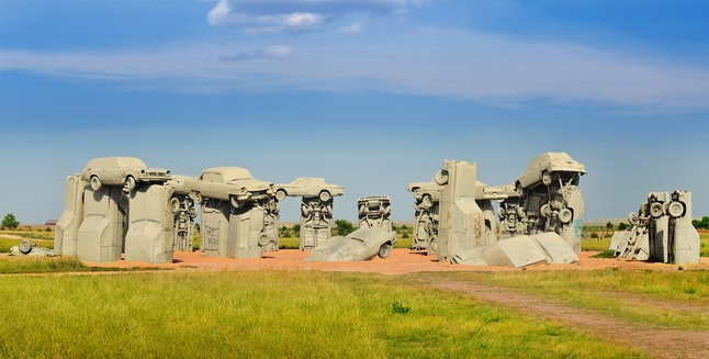 Who needs Stonehenge when you can visit Carhenge instead?