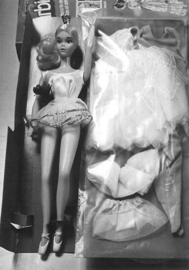 Barbie on display, November 19, 1979