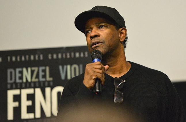 Denzel Washington attends the Cast & Crew Special Screening of the Paramount Pictures title 'Fences' at Southside Works Cinema on Dec. 20, 2016 in Pittsburgh.