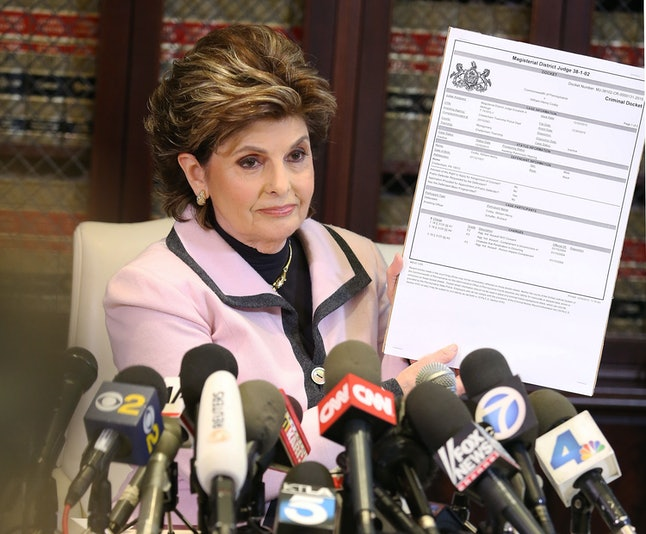 Jane Doe 2's attorney, Gloria Allred.