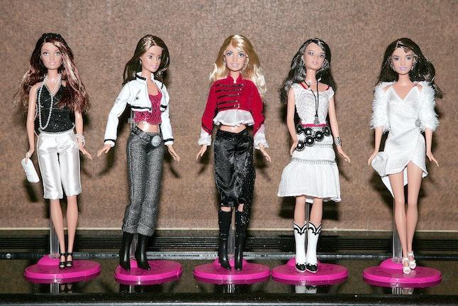 Girls Aloud Barbie Dolls, 2005