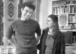 Tim Kaine and Anne Holton together at Harvard Law School in 1983.