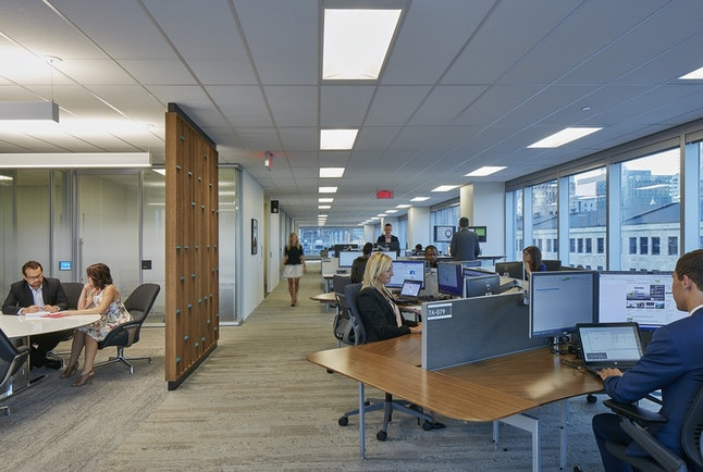 Deloitte's redesigned Montreal office