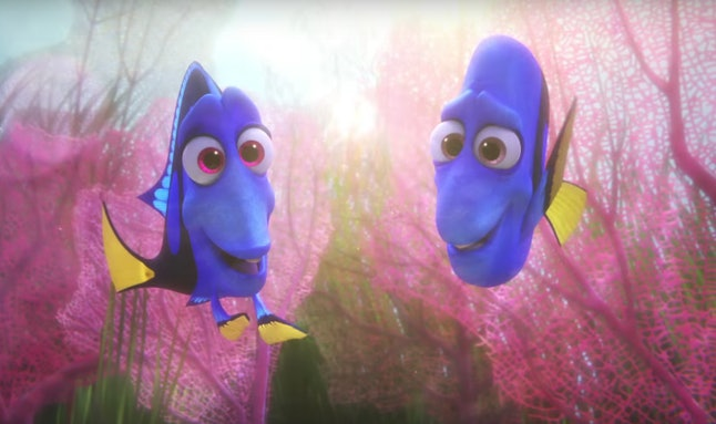 Dory remembering her parents
