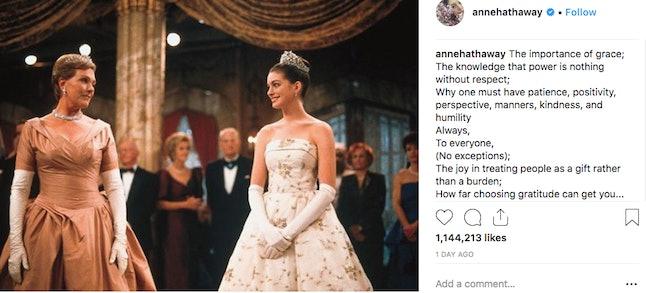 Source: Instagram/AnneHathaway
