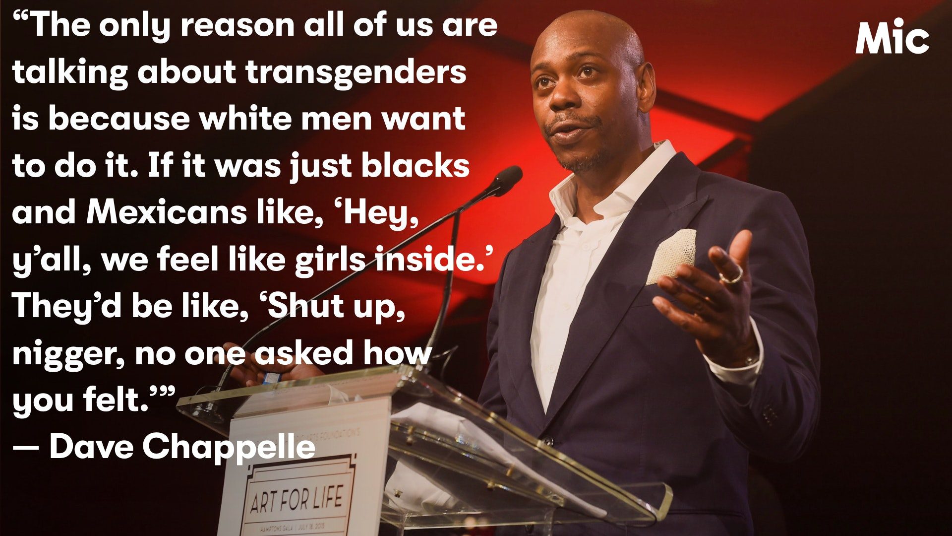 Dave Chappelle still doesn\'t understand transgender people ...
