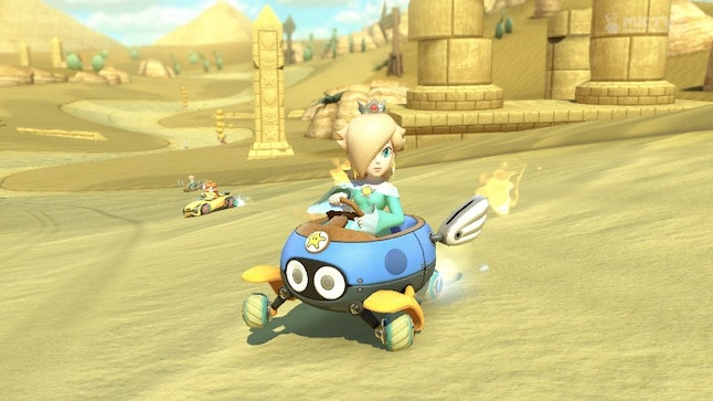 The Biddybuggy looks adorable during races.