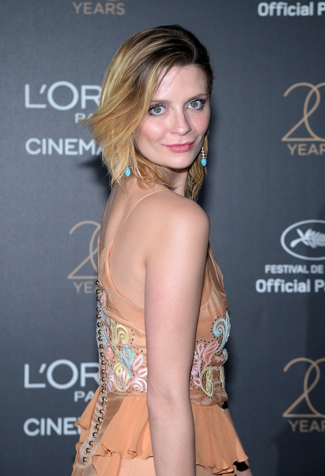 Mischa Barton attends the Gala 20th Birthday of L'Oreal In Cannes during the 70th annual Cannes Film Festival at Martinez Hotel on May 24, 2017 in Cannes, France.