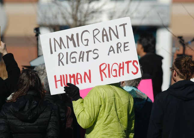 Rally for immigrant rights