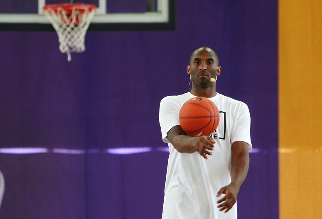 Kobe Bryant played his entire NBA career with the Los Angeles Lakers and has amassed $50 million in total earnings.