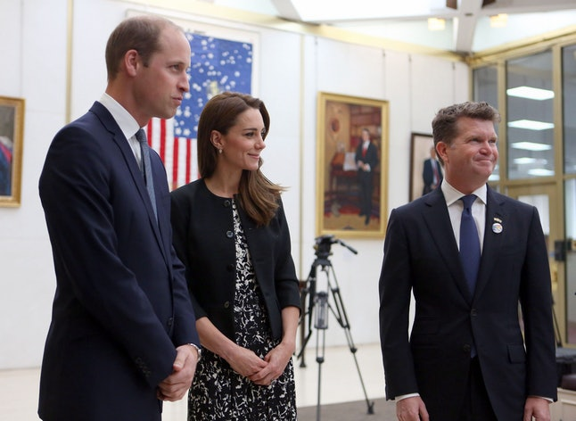 Current U.S. ambassador to the United Kingdom Matthew Barzun with Prince William and the Dutchess of Cambridge.