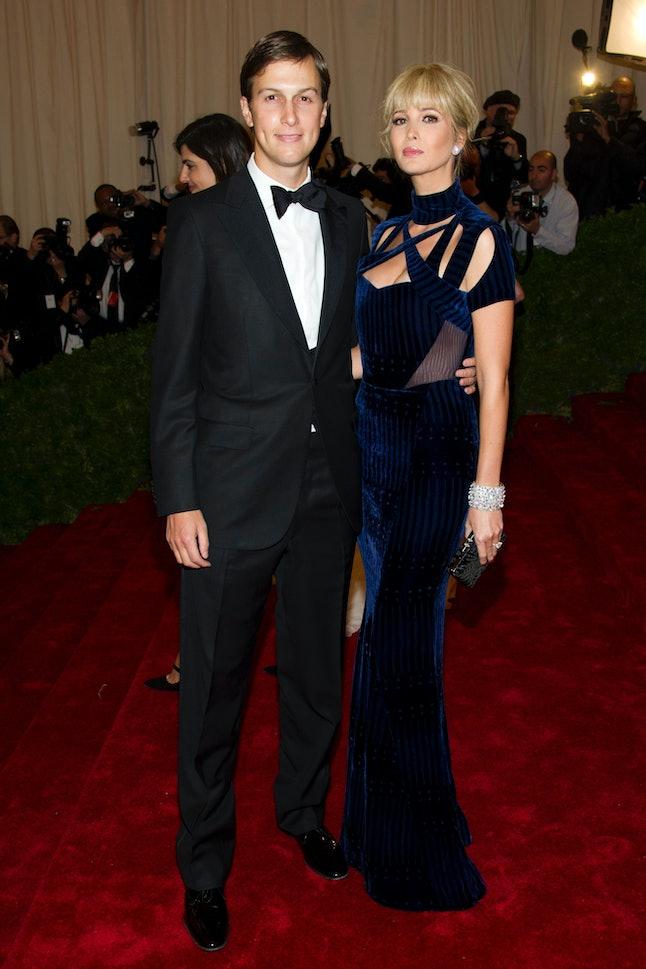 Jared Kushner and Ivanka Trump at the 2012 Met Gala