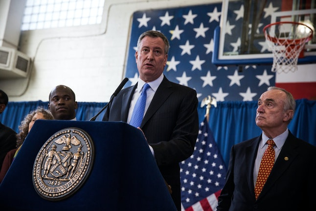 When New York City Mayor Bill de Blasio took office in 2014, he announced the city would drop its appeal of the decision that ruled stop and frisk unconstitutional in 2013. Since then, the city's murder rate has declined.