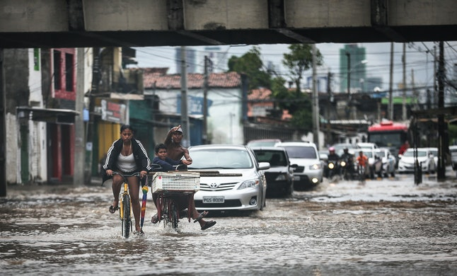 Extreme flooding in Brazil.