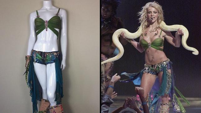 Britney Spears' 2001 MTV VMA costume