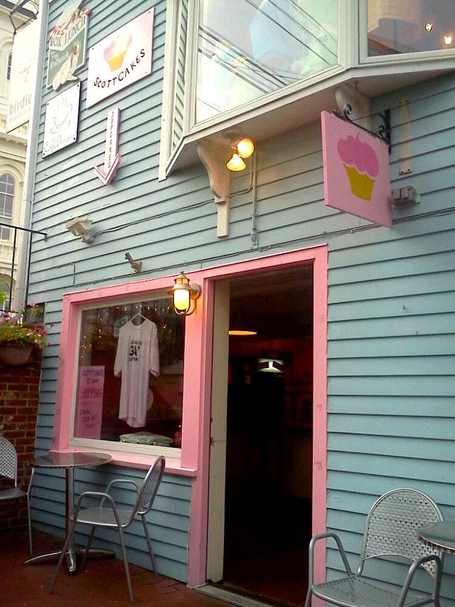 ScottCakes' unassuming storefront