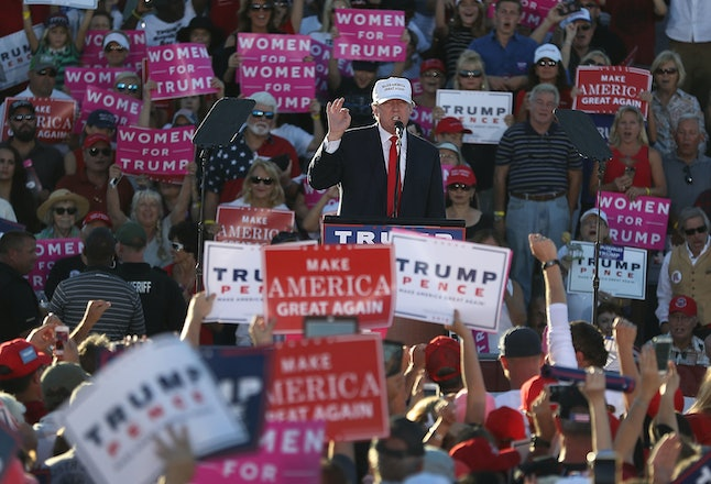 Donald Trump at a rally Oct. 3 in Naples, Florida.