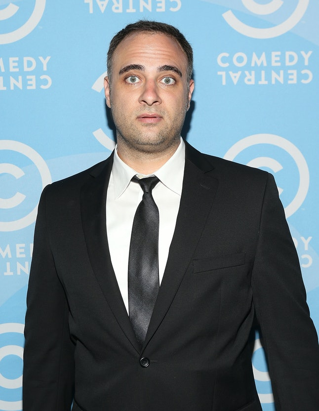 Kurt Metzger at a 2014 Comedy Central press event.