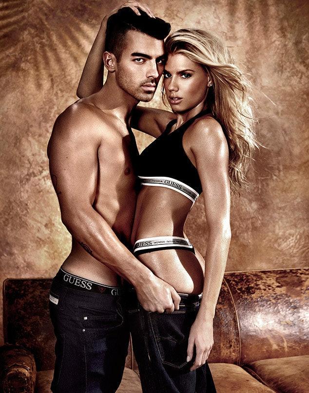 Joe Jonas and Charlotte McKinney