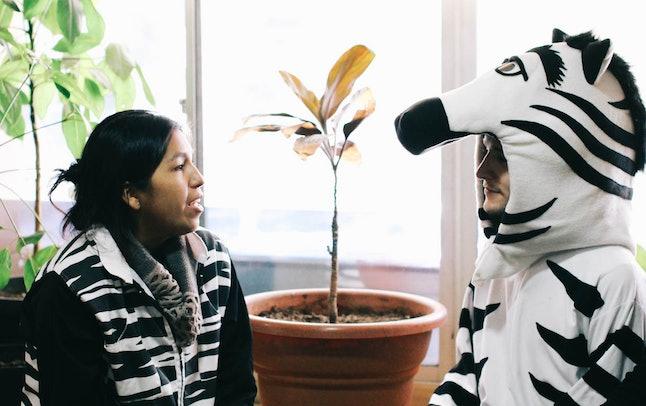Talking with Goya Quiquiján Bautista Moya, a manager of Educadores Urbanos Cebras in La Paz