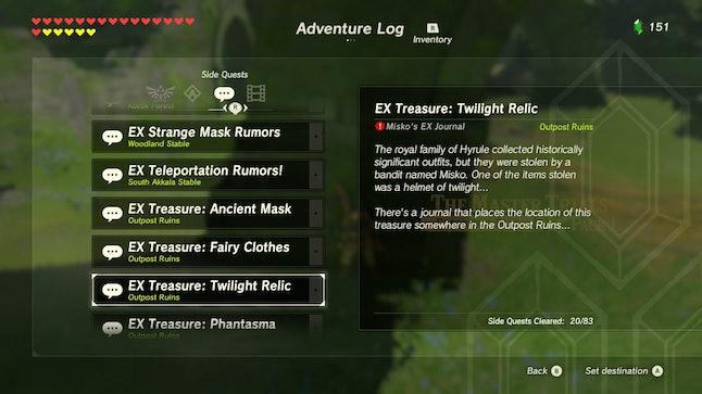 Source: Zelda: Breath of the Wild/Mic